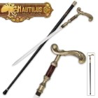 The Nautilus Steampunk Sword Cane