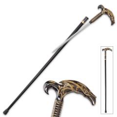 The Atlantis Steampunk Sword Cane