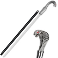 Striking Cobra Sword Cane
