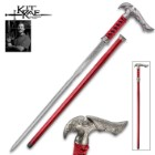 Kit Rae Axios Damascus Sword Cane