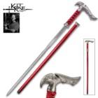 Kit Rae Axios Damascus Sword Cane