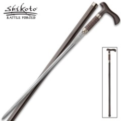 United Cutlery Rurousha Forged Sword Cane Damascus
