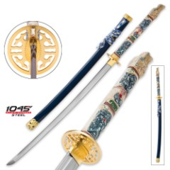 Highlander Closed Mouth Dragon Katana