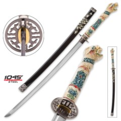 Highlander Open Mouth Dragon Katana