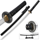 Last Samurai Katana - Handmade Carbon Steel - Fully Functional - Battle Ready Sword