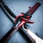 "44"" Overwatch Game Genji Oni Metal Sword OW Weapon 1:1 NEW Cosplay LARP Props"