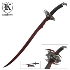 Red Dragon Scimitar Sword
