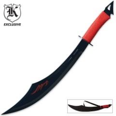 Shanghai Spy Sword Black & Red with Sheath