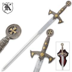 Knights Templar Fantasy Sword