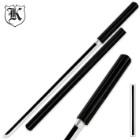 Black Wooden Nodachi Sword