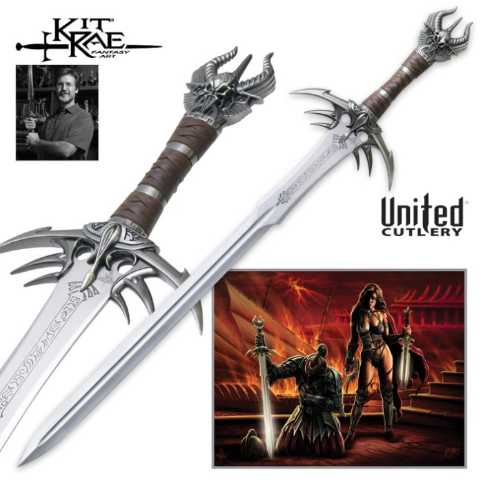 Hattori Kitchen Knives: Kit Rae Anathar Sword - Sword Of The Ancients