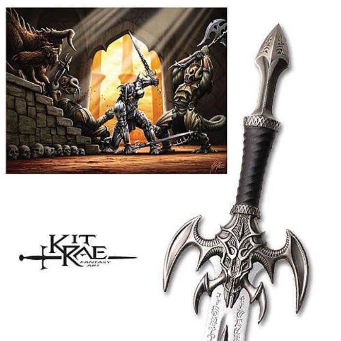 Kit Rae Exotath Sword Autographed Edition | CHKadels com