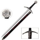 Historic Knights Templar Broadsword, 39 Inches