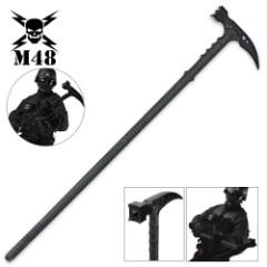 M48 Kommando Survival Hammer Tactical Hiking Staff