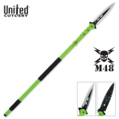 M48 Apocalypse Undead Survival Spear and Molded Sheath