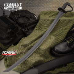 Combat Commander Saber Sword - 1050 Carbon Steel