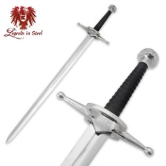 Medieval / Renaissance-Era Carbon Steel Two Handed Great Sword