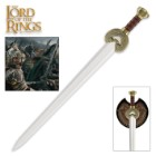 Lord of the Rings Herrugrim Sword with Display Plaque