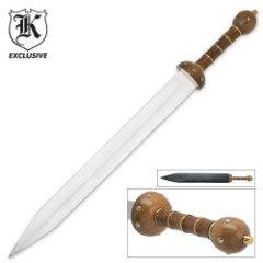 Roman Gladiator Spartan Gladius Sword and Sheath