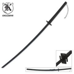 Midnight Warrior Black Katana