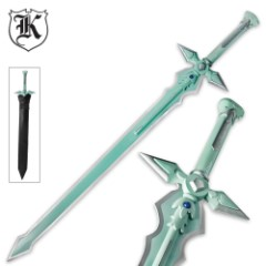 Anime Dark Night Sword With Sheath