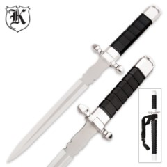 Futuristic Combat Dagger And Sheath