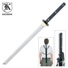 Okhotsk Full Tang Ninjato Sword with Sheath