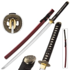 Bushido Dragon's Fury Full-Tang Katana
