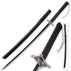 Black Warrior Samurai Sword