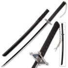 Black Warrior Samurai Sword