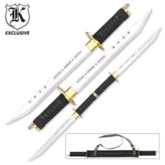 Galaxy Twin Sword Set with Sheath