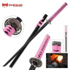Shinwa Pink Warrior Katana Sword