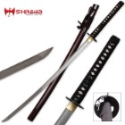 Hand Forged Damascus Steel Samurai Katana Sword
