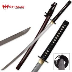 Hand Forged Damascus Steel Samurai Katana Sword