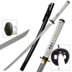 Shinwa Hand Forged Carbon Steel Samurai Katana