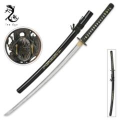 Ten Ryu Brass Dragon Samurai Sword