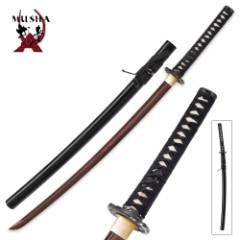 Musha Raiden Ser Hand-Forged Samurai Sword
