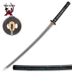 Musha Bamboo Hand-Forged 1045 High Carbon Steel Sword