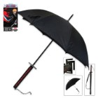 Officially Licensed Bleach Ichigo Kurosaki Samurai Sword Handle Anime Umbrella
