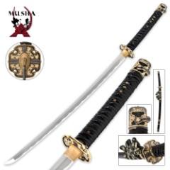 Jintachi Ceremonial Sword Black