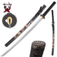 Luna King Full-Tang Samurai Sword