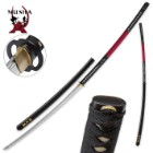 Musashi Hand-Forged Nagamaki 1045 Carbon Steel Sword