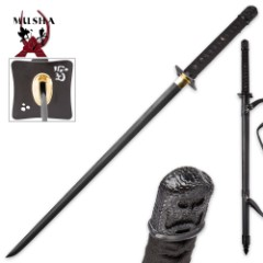 Musha Hand-Forged High Carbon Steel Ninja Sword