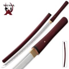Musha Bushido Crimson Rain Shirasaya Sword