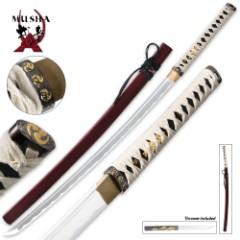 Musha Bushido Zetsurin Samurai Sword Crimson