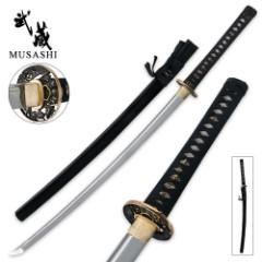 Samurai Musashi Clay Tempered Katana Sword