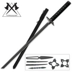 Black Ninja Sword Set