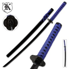 Deep Purple Warrior Katana