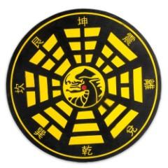Bullseye Dragon Throwing Knife Ninja Star Target Board