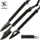 3 Pack Survival Harpoon Knives and Sheath
